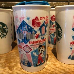 Disney Accessories - Starbucks Disneyland Ceramic Tumbler Mickey Mouse